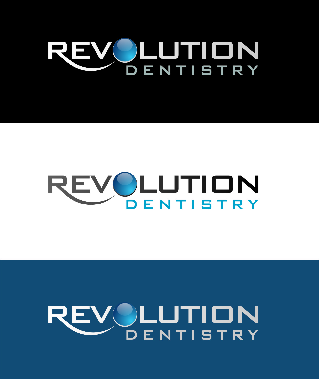 Logo Design by RasYa Muhammad Athaya - Entry No. 188 in the Logo Design Contest Artistic Logo Design for Revolution Dentistry.