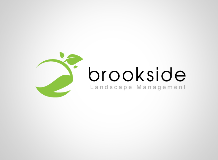 Logo Design by Jan Chua - Entry No. 111 in the Logo Design Contest New Logo Design for Brookside Landscape Management.