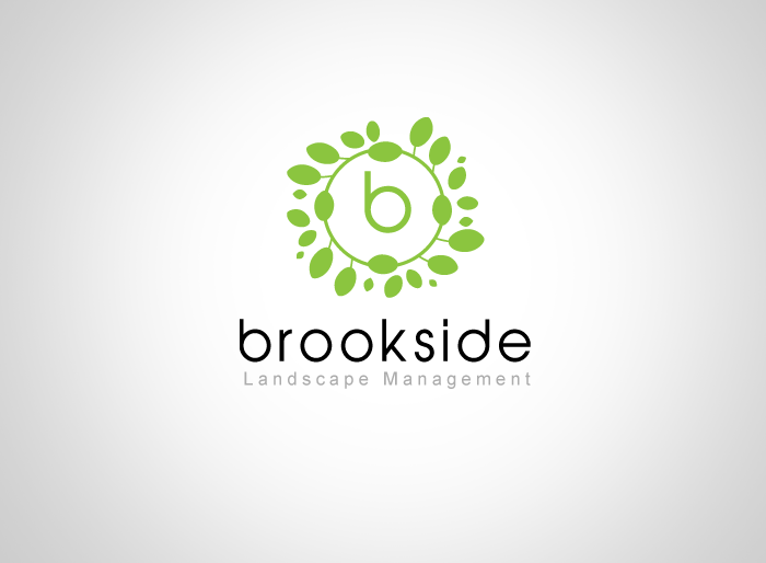 Logo Design by Jan Chua - Entry No. 112 in the Logo Design Contest New Logo Design for Brookside Landscape Management.