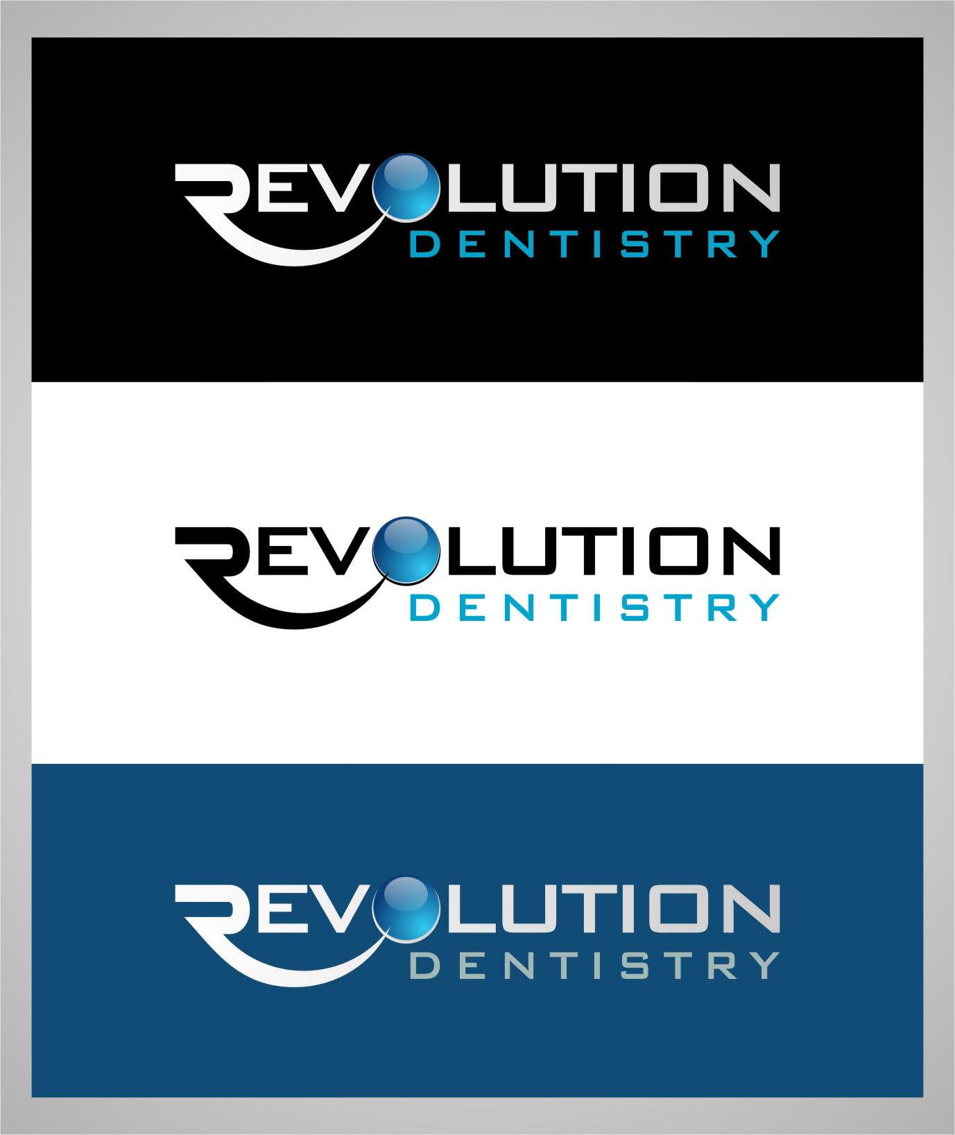 Logo Design by RasYa Muhammad Athaya - Entry No. 190 in the Logo Design Contest Artistic Logo Design for Revolution Dentistry.