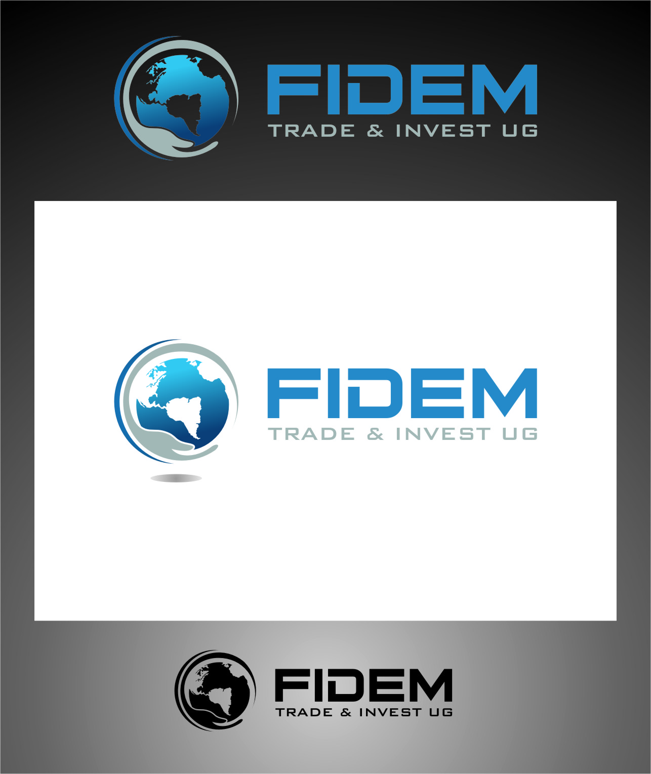 Logo Design by Ngepet_art - Entry No. 420 in the Logo Design Contest Professional Logo Design for FIDEM Trade & Invest UG.