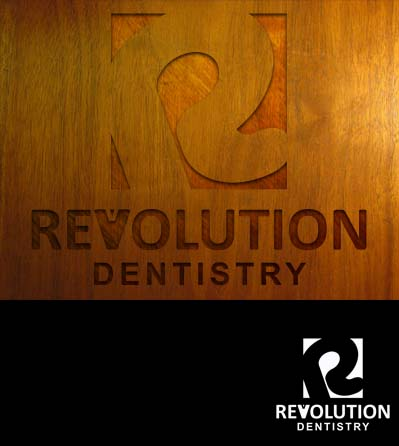 Logo Design by Crispin Jr Vasquez - Entry No. 193 in the Logo Design Contest Artistic Logo Design for Revolution Dentistry.