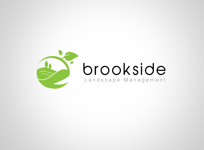 Logo Design by Jan Chua - Entry No. 116 in the Logo Design Contest New Logo Design for Brookside Landscape Management.