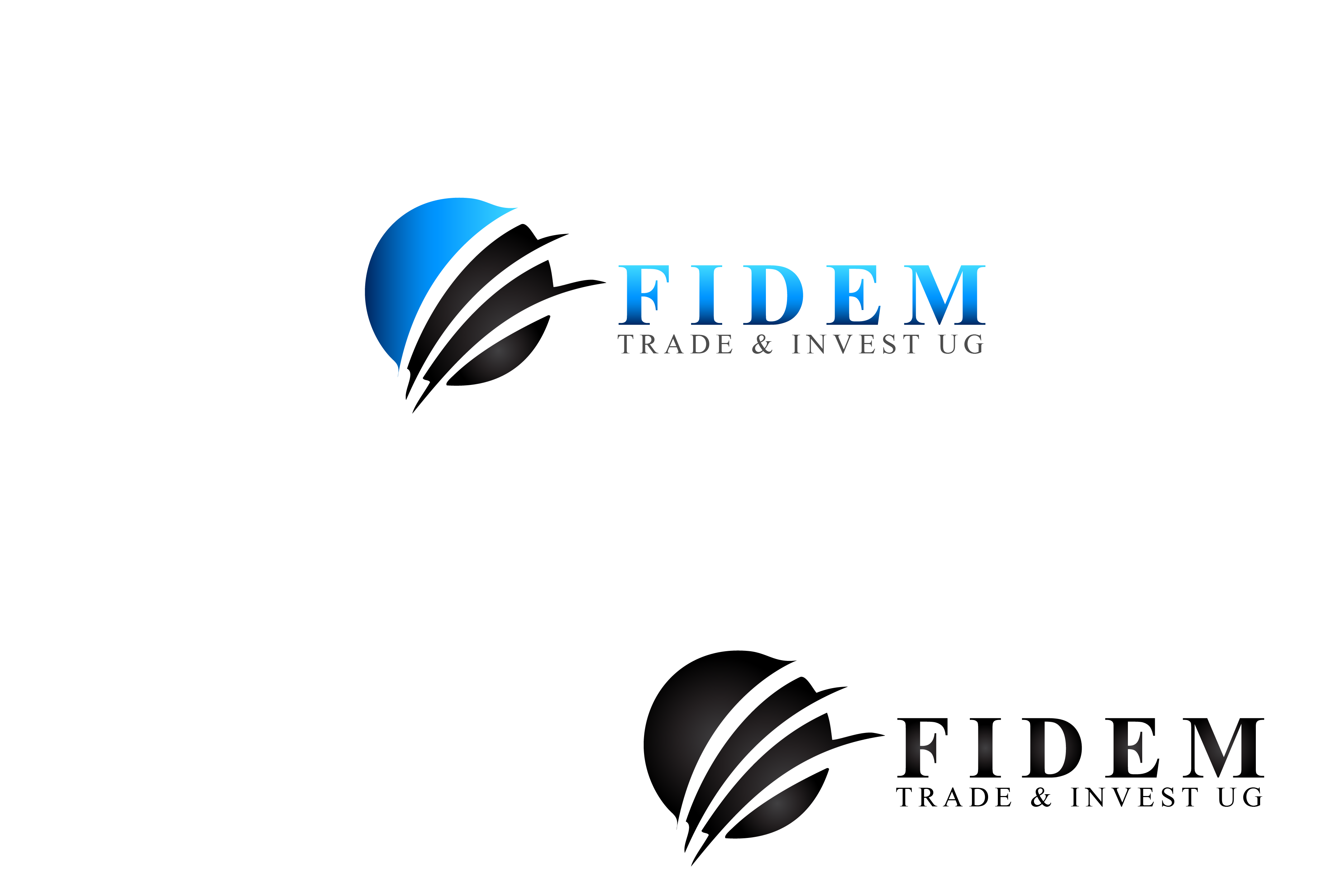 Logo Design by Private User - Entry No. 429 in the Logo Design Contest Professional Logo Design for FIDEM Trade & Invest UG.