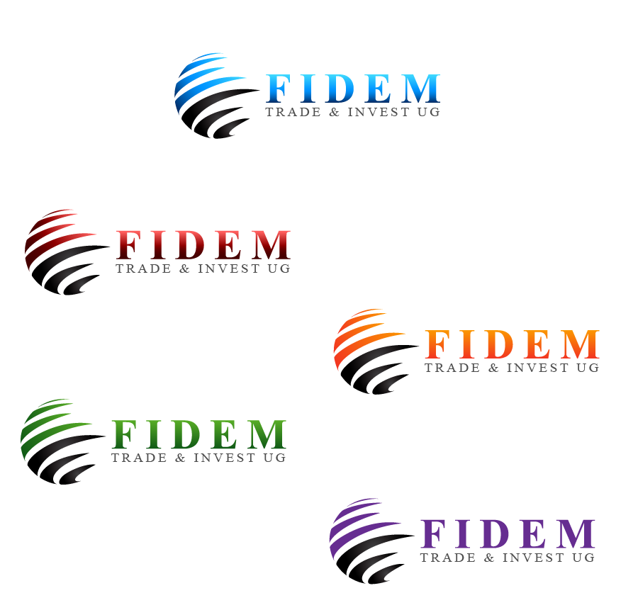 Logo Design by Private User - Entry No. 434 in the Logo Design Contest Professional Logo Design for FIDEM Trade & Invest UG.
