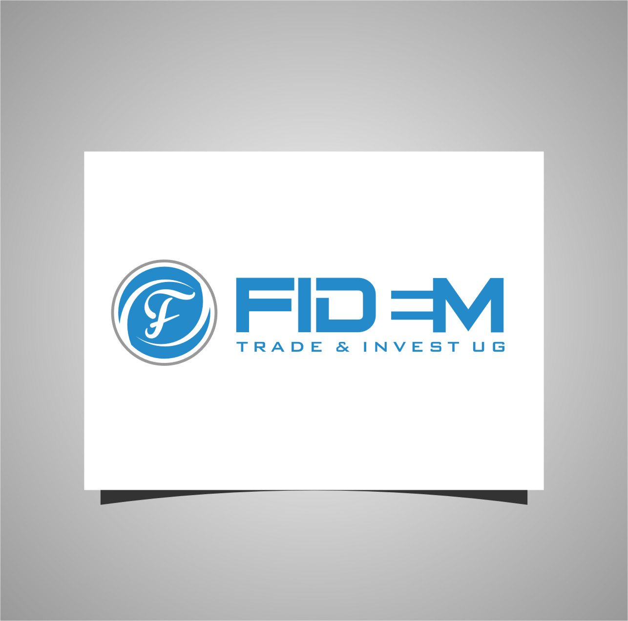 Logo Design by RasYa Muhammad Athaya - Entry No. 438 in the Logo Design Contest Professional Logo Design for FIDEM Trade & Invest UG.