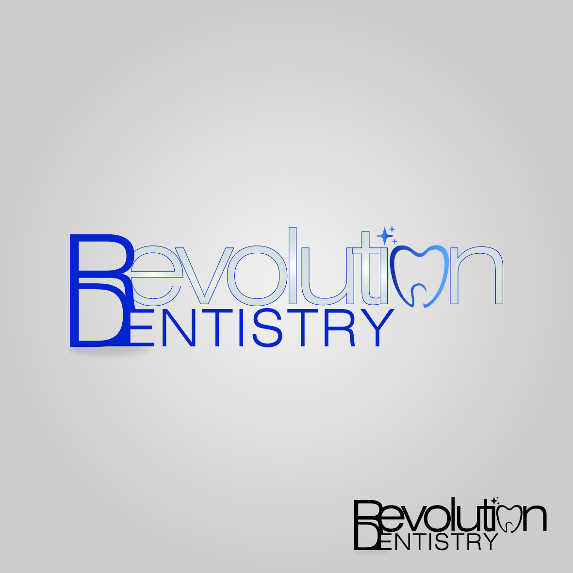 Logo Design by nTia - Entry No. 215 in the Logo Design Contest Artistic Logo Design for Revolution Dentistry.