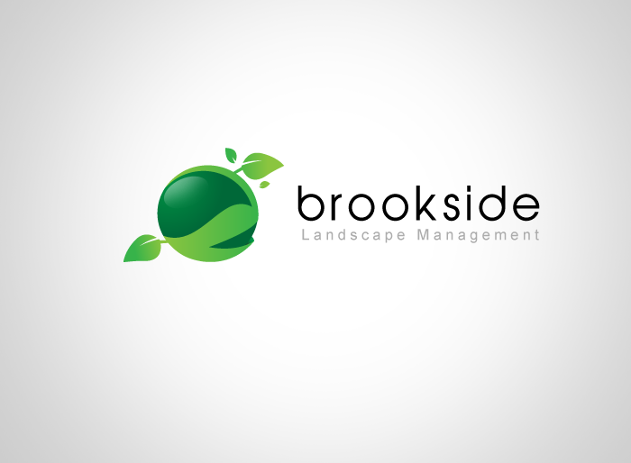 Logo Design by Jan Chua - Entry No. 120 in the Logo Design Contest New Logo Design for Brookside Landscape Management.