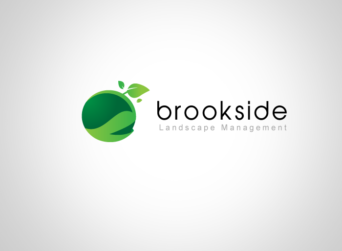 Logo Design by Jan Chua - Entry No. 121 in the Logo Design Contest New Logo Design for Brookside Landscape Management.