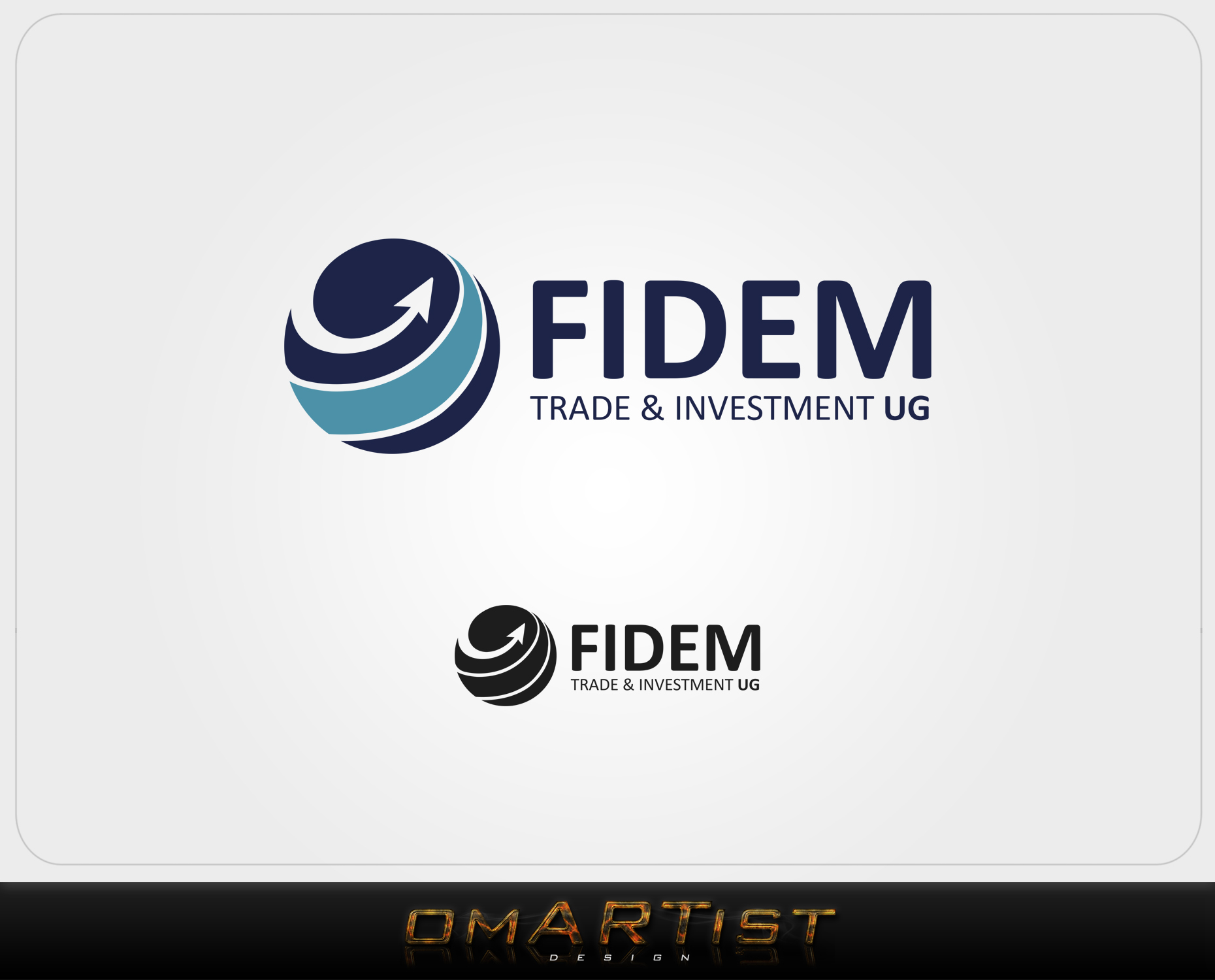 Logo Design by omARTist - Entry No. 444 in the Logo Design Contest Professional Logo Design for FIDEM Trade & Invest UG.