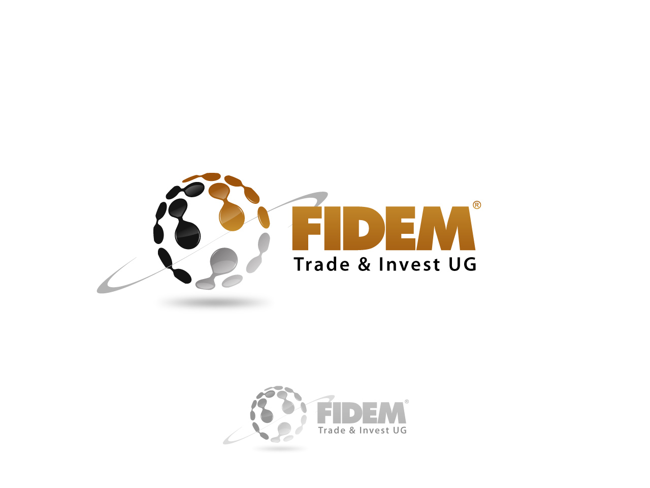 Logo Design by jpbituin - Entry No. 445 in the Logo Design Contest Professional Logo Design for FIDEM Trade & Invest UG.