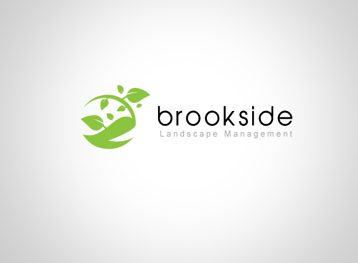 Logo Design by Jan Chua - Entry No. 122 in the Logo Design Contest New Logo Design for Brookside Landscape Management.