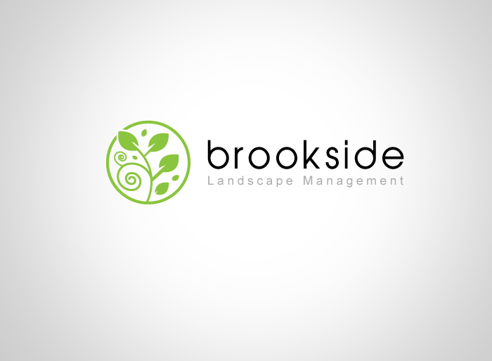 Logo Design by Jan Chua - Entry No. 123 in the Logo Design Contest New Logo Design for Brookside Landscape Management.