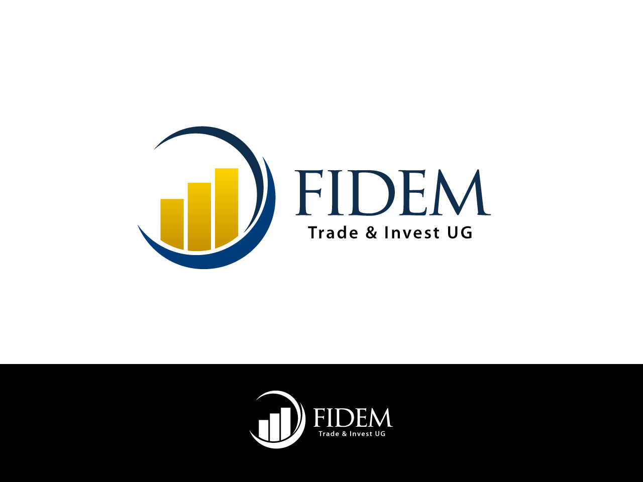Logo Design by jpbituin - Entry No. 448 in the Logo Design Contest Professional Logo Design for FIDEM Trade & Invest UG.
