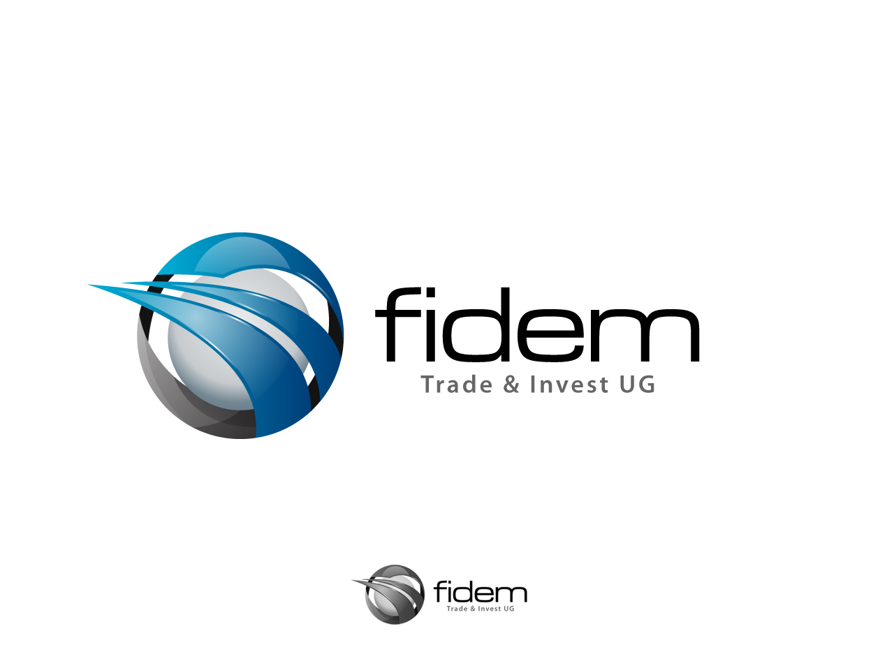 Logo Design by jpbituin - Entry No. 449 in the Logo Design Contest Professional Logo Design for FIDEM Trade & Invest UG.