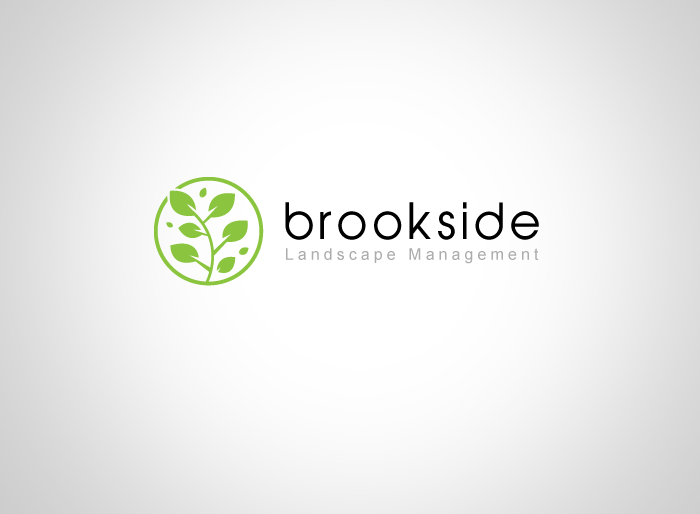 Logo Design by Jan Chua - Entry No. 124 in the Logo Design Contest New Logo Design for Brookside Landscape Management.