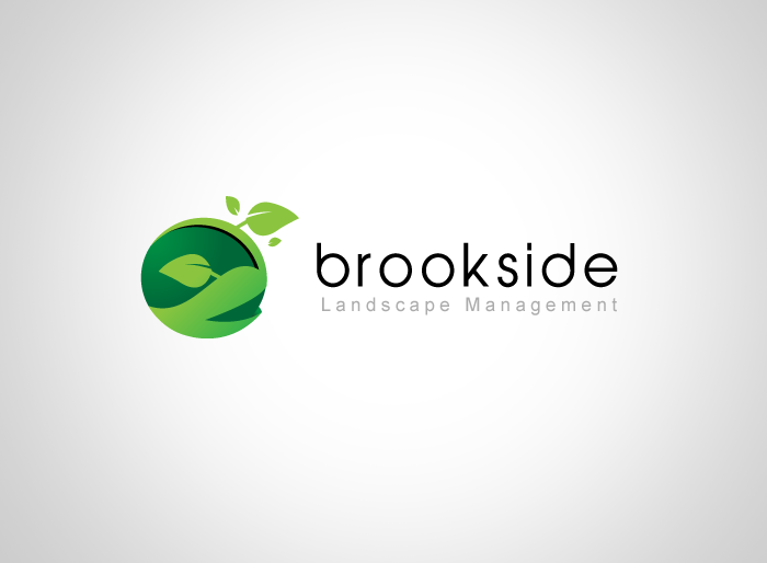 Logo Design by Jan Chua - Entry No. 125 in the Logo Design Contest New Logo Design for Brookside Landscape Management.