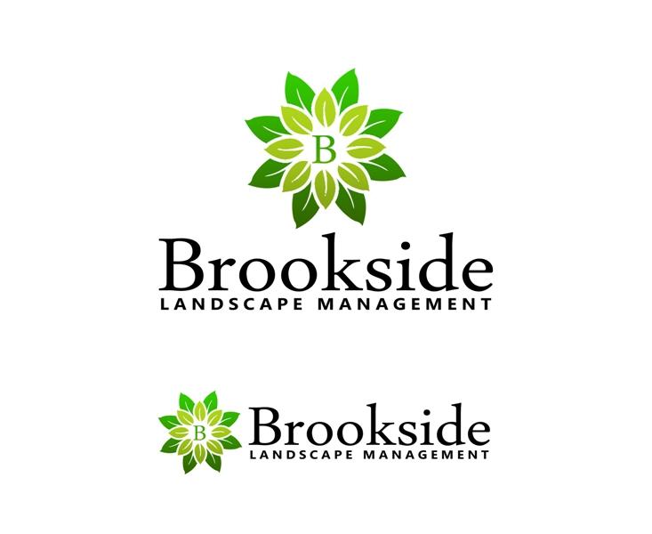 Logo Design by Juan_Kata - Entry No. 126 in the Logo Design Contest New Logo Design for Brookside Landscape Management.