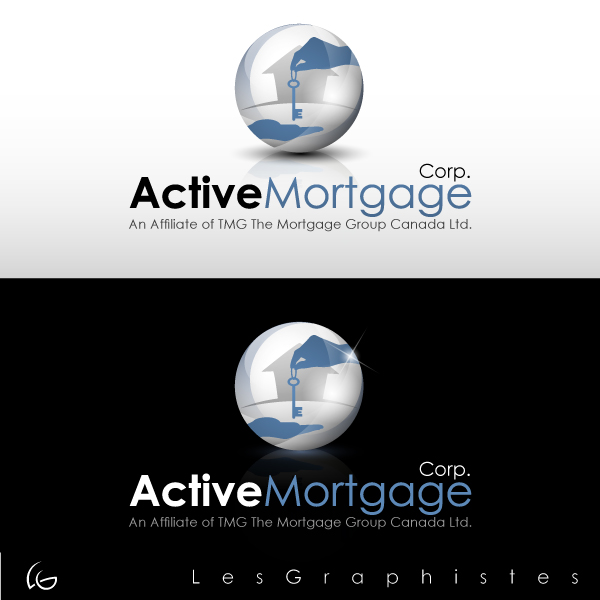 Logo Design by Les-Graphistes - Entry No. 199 in the Logo Design Contest Active Mortgage Corp..