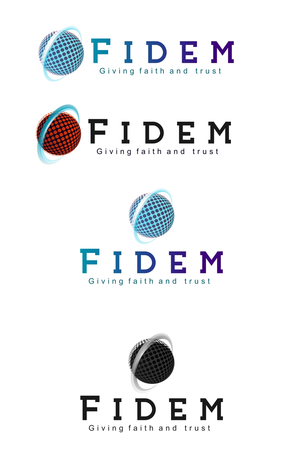 Logo Design by Private User - Entry No. 464 in the Logo Design Contest Professional Logo Design for FIDEM Trade & Invest UG.
