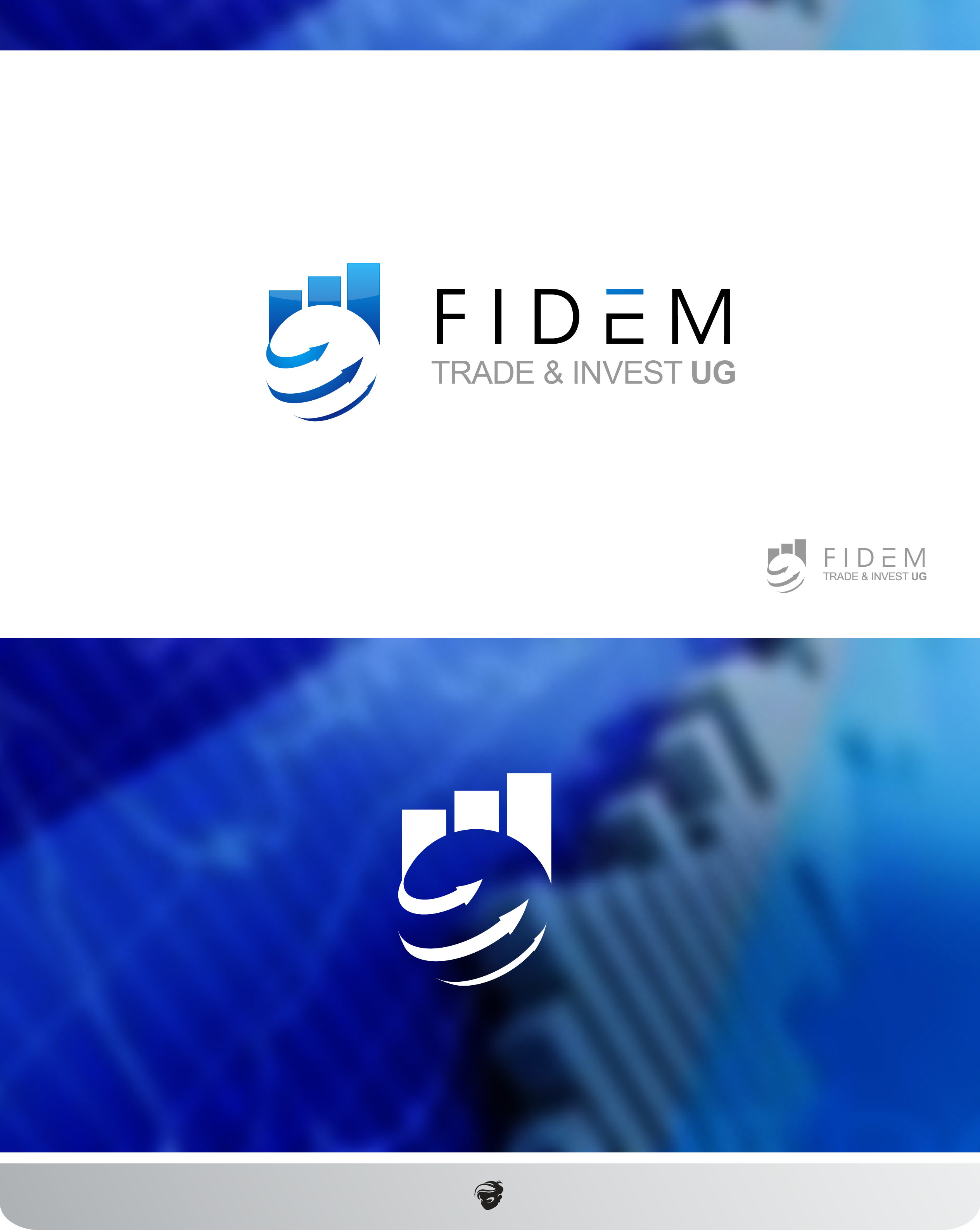 Logo Design by zesthar - Entry No. 467 in the Logo Design Contest Professional Logo Design for FIDEM Trade & Invest UG.