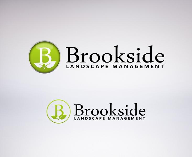 Logo Design by Juan_Kata - Entry No. 128 in the Logo Design Contest New Logo Design for Brookside Landscape Management.