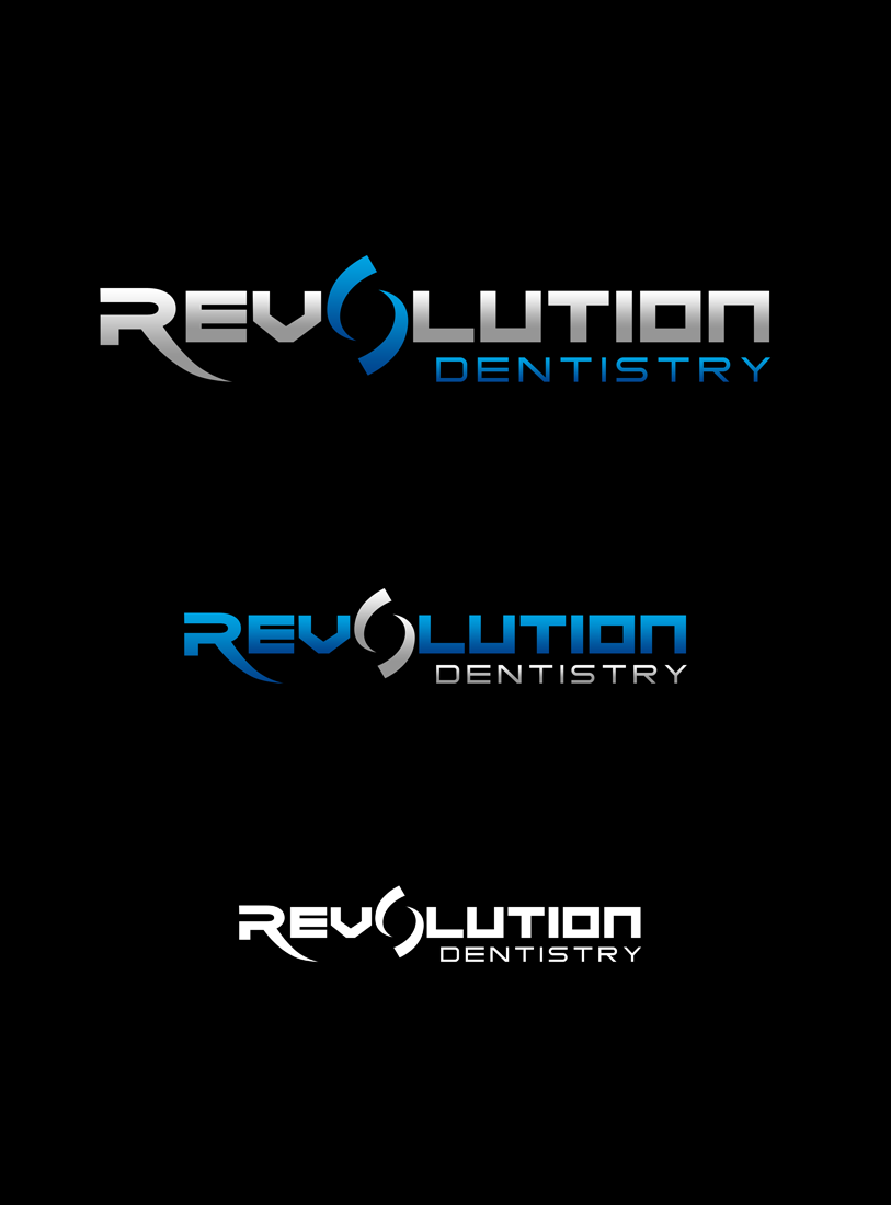Logo Design by Robert Turla - Entry No. 230 in the Logo Design Contest Artistic Logo Design for Revolution Dentistry.