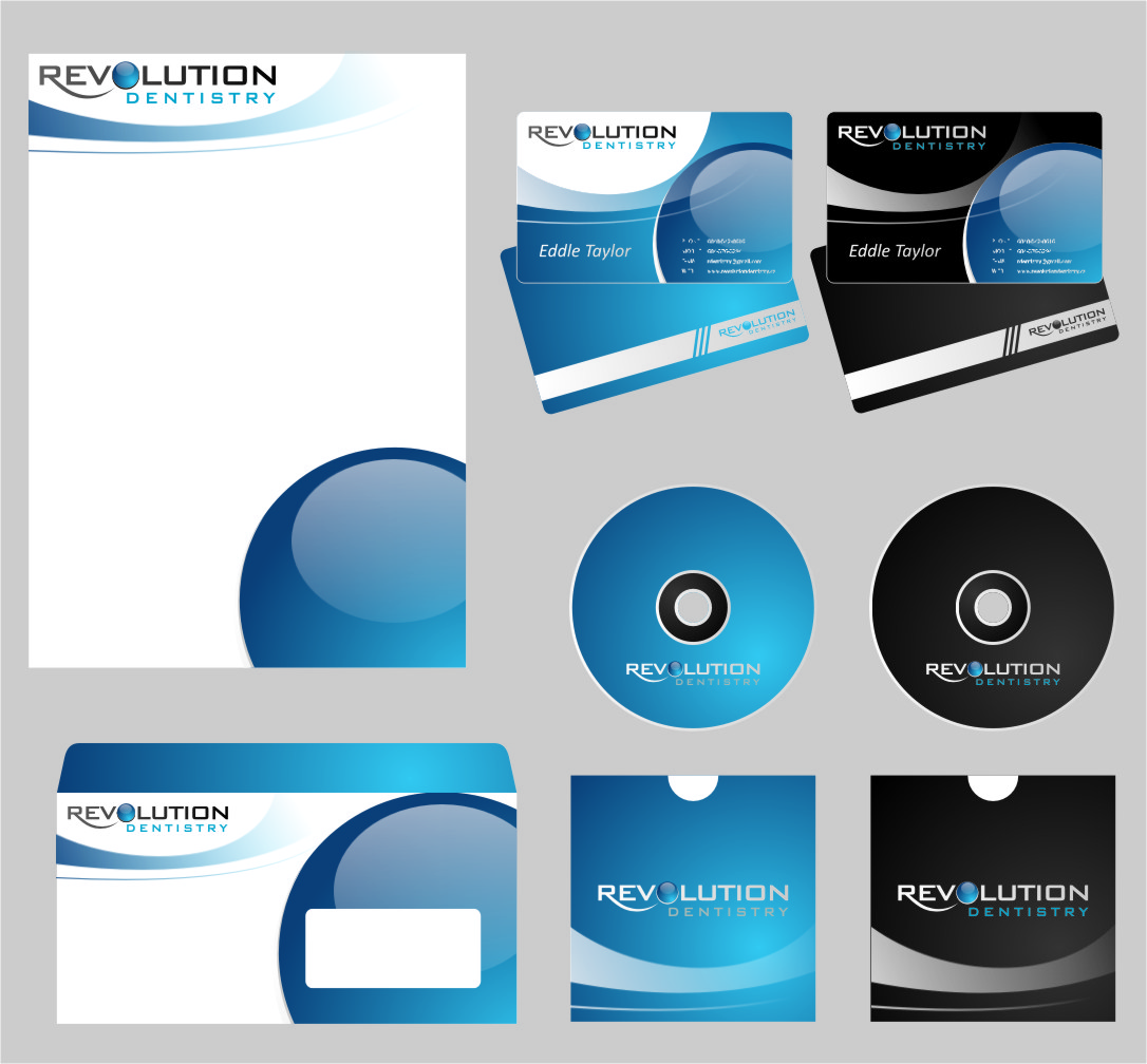 Logo Design by Ngepet_art - Entry No. 232 in the Logo Design Contest Artistic Logo Design for Revolution Dentistry.