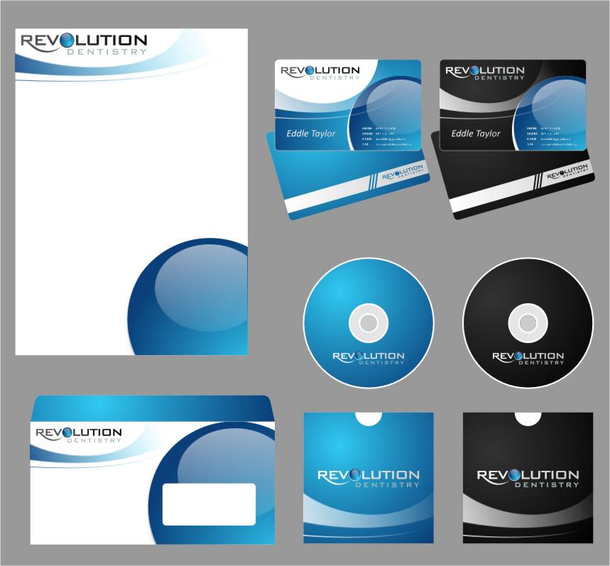 Logo Design by Ngepet_art - Entry No. 233 in the Logo Design Contest Artistic Logo Design for Revolution Dentistry.