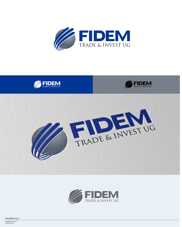 Logo Design by alocelja - Entry No. 471 in the Logo Design Contest Professional Logo Design for FIDEM Trade & Invest UG.
