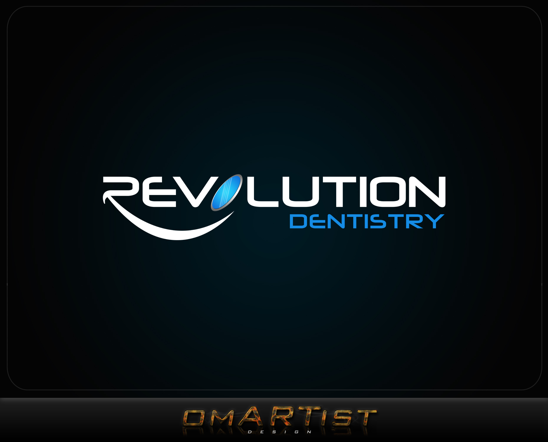 Logo Design by omARTist - Entry No. 238 in the Logo Design Contest Artistic Logo Design for Revolution Dentistry.