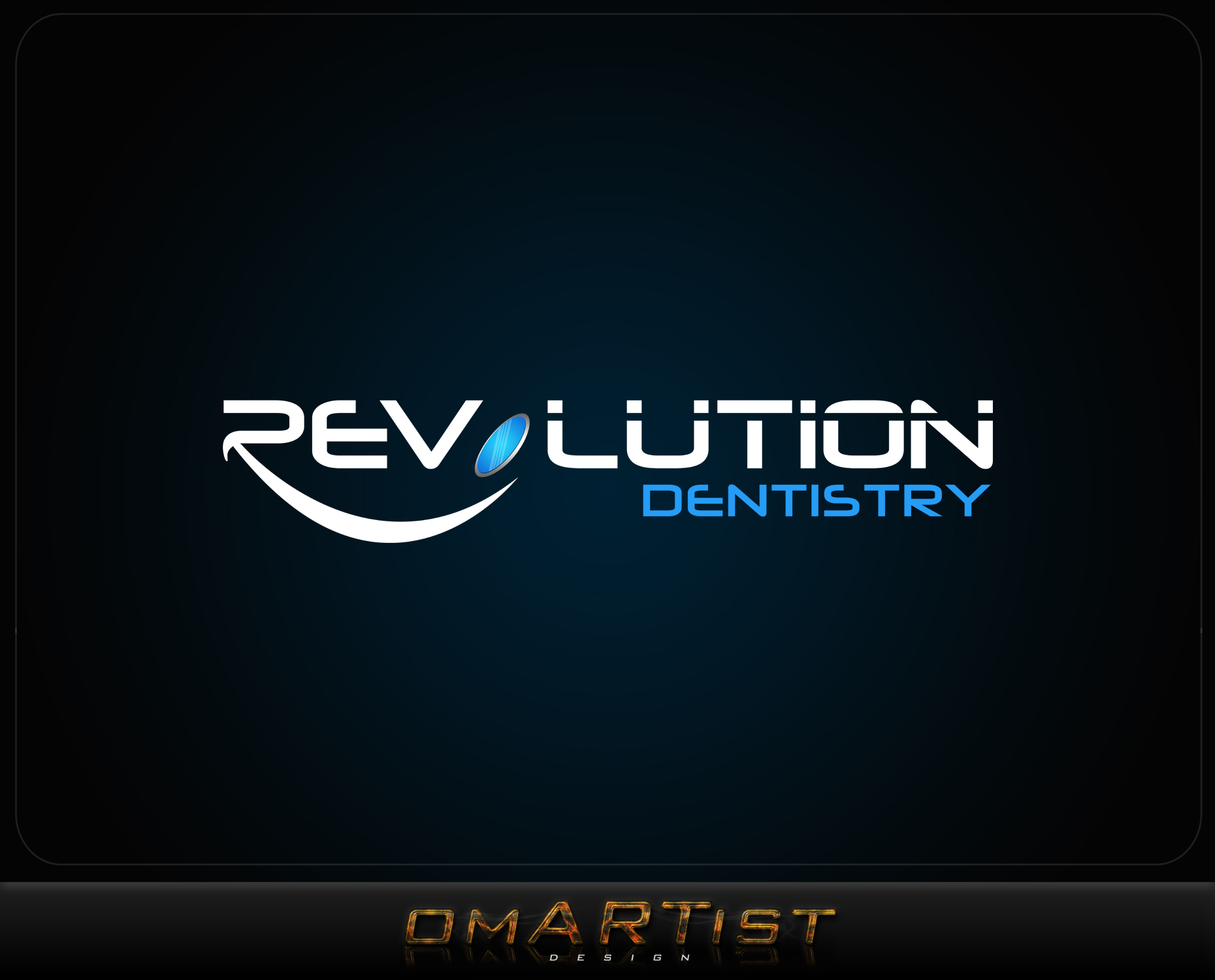 Logo Design by omARTist - Entry No. 239 in the Logo Design Contest Artistic Logo Design for Revolution Dentistry.