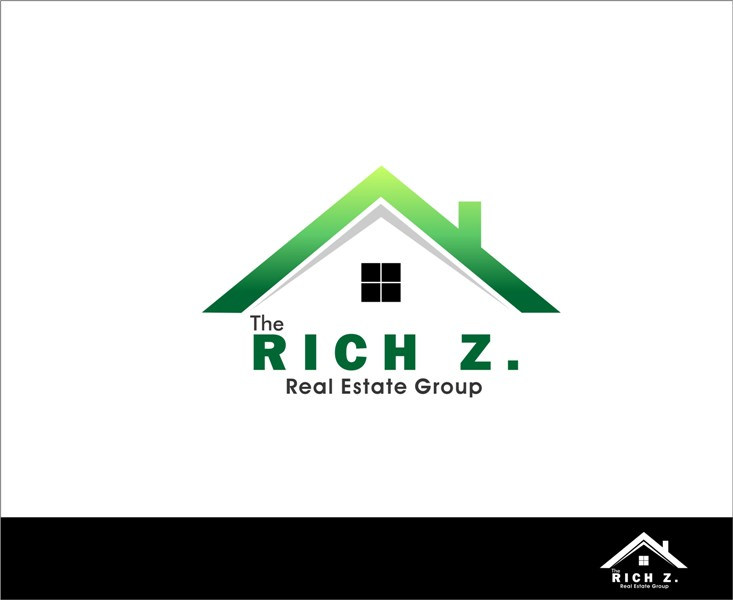 Logo Design by Mhon_Rose - Entry No. 1 in the Logo Design Contest The Rich Z. Real Estate Group Logo Design.