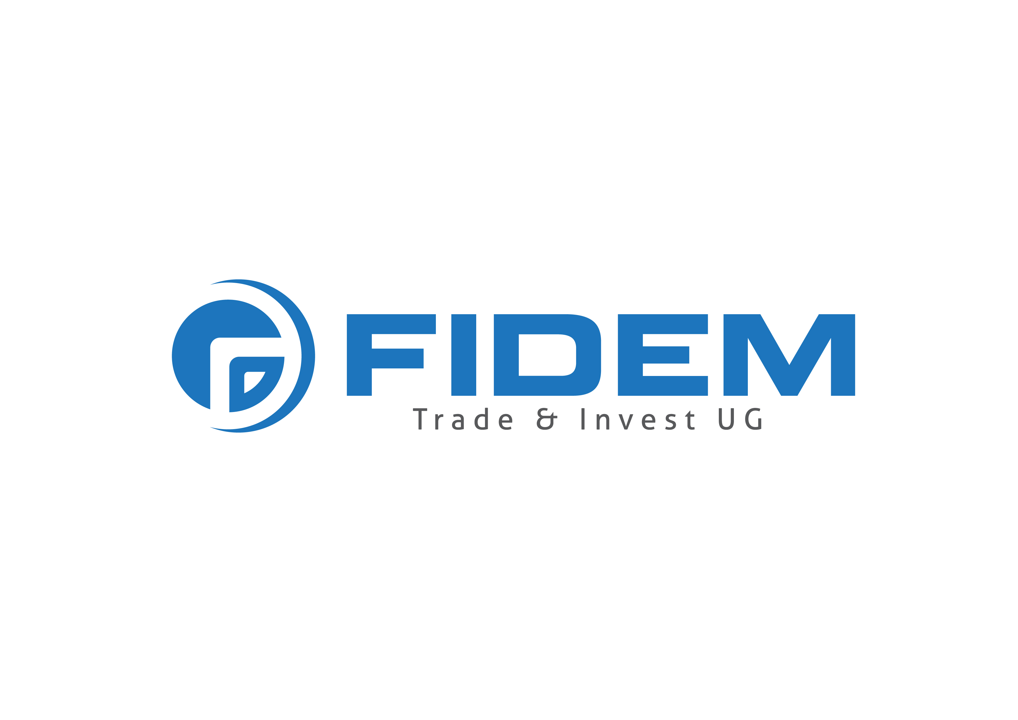 Logo Design by 3draw - Entry No. 489 in the Logo Design Contest Professional Logo Design for FIDEM Trade & Invest UG.
