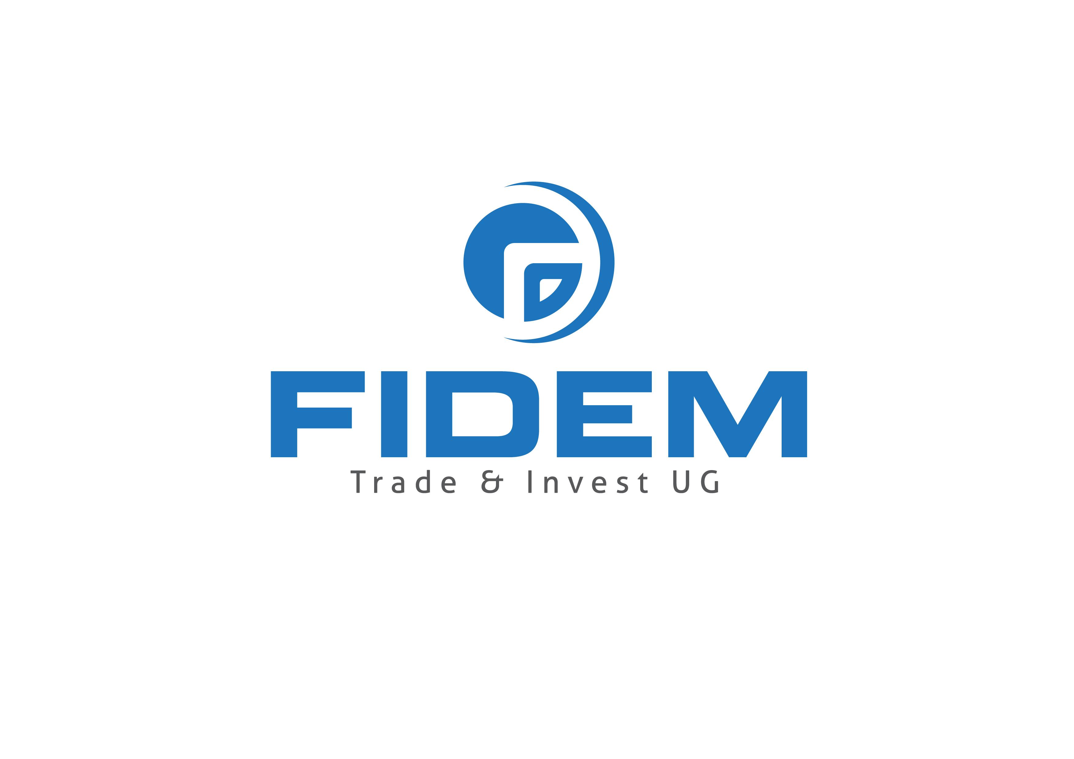 Logo Design by 3draw - Entry No. 490 in the Logo Design Contest Professional Logo Design for FIDEM Trade & Invest UG.