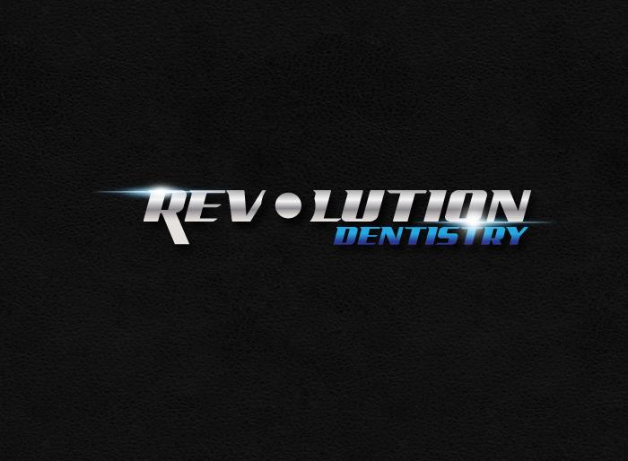 Logo Design by Jan Chua - Entry No. 246 in the Logo Design Contest Artistic Logo Design for Revolution Dentistry.