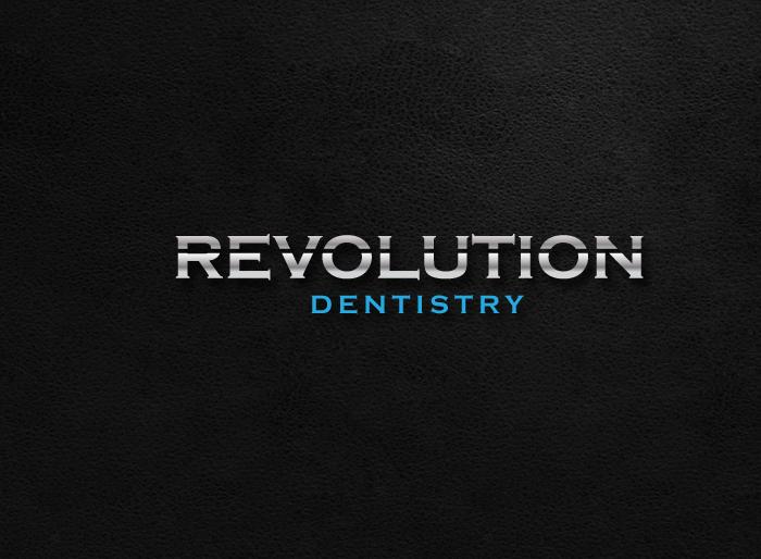 Logo Design by Jan Chua - Entry No. 248 in the Logo Design Contest Artistic Logo Design for Revolution Dentistry.