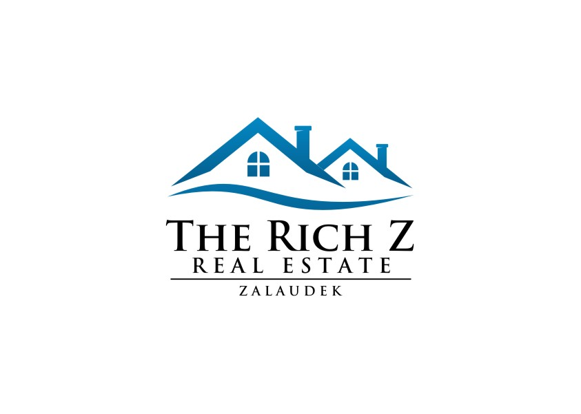 Logo Design by untung - Entry No. 2 in the Logo Design Contest The Rich Z. Real Estate Group Logo Design.