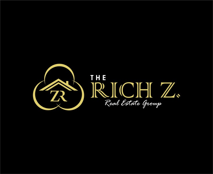 Logo Design by Mhon_Rose - Entry No. 3 in the Logo Design Contest The Rich Z. Real Estate Group Logo Design.