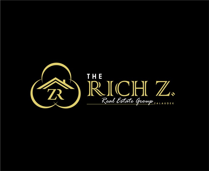 Logo Design by Mhon_Rose - Entry No. 4 in the Logo Design Contest The Rich Z. Real Estate Group Logo Design.