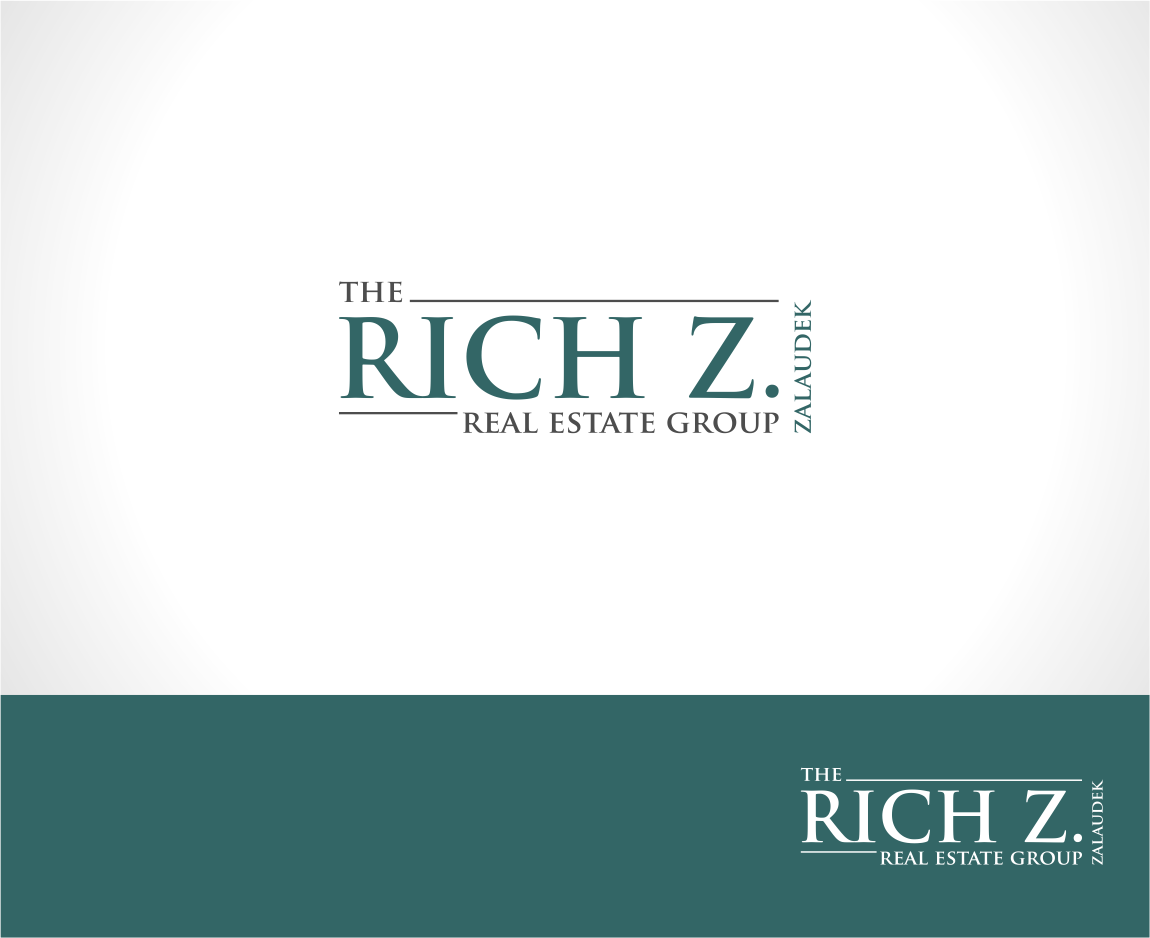 Logo Design by haidu - Entry No. 5 in the Logo Design Contest The Rich Z. Real Estate Group Logo Design.