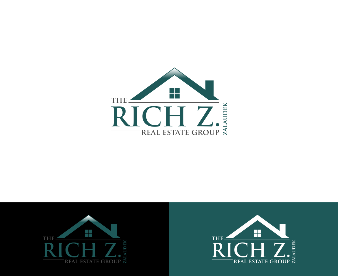 Logo Design by haidu - Entry No. 6 in the Logo Design Contest The Rich Z. Real Estate Group Logo Design.
