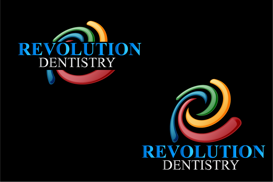 Logo Design by Private User - Entry No. 250 in the Logo Design Contest Artistic Logo Design for Revolution Dentistry.