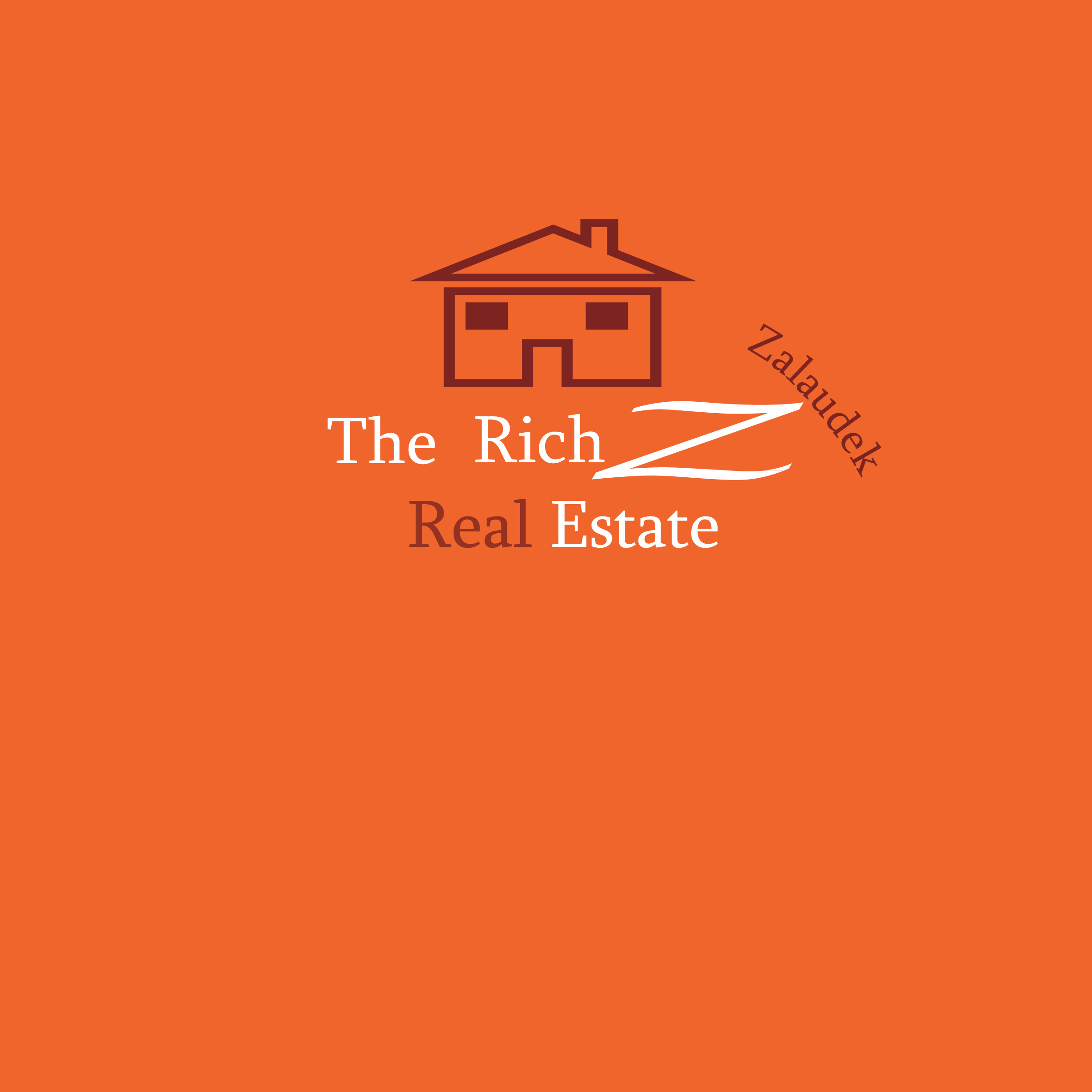 Logo Design by Laila Tariq - Entry No. 13 in the Logo Design Contest The Rich Z. Real Estate Group Logo Design.