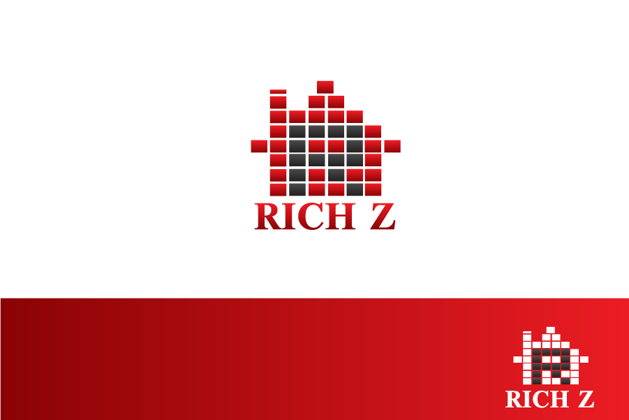 Logo Design by brands_in - Entry No. 14 in the Logo Design Contest The Rich Z. Real Estate Group Logo Design.