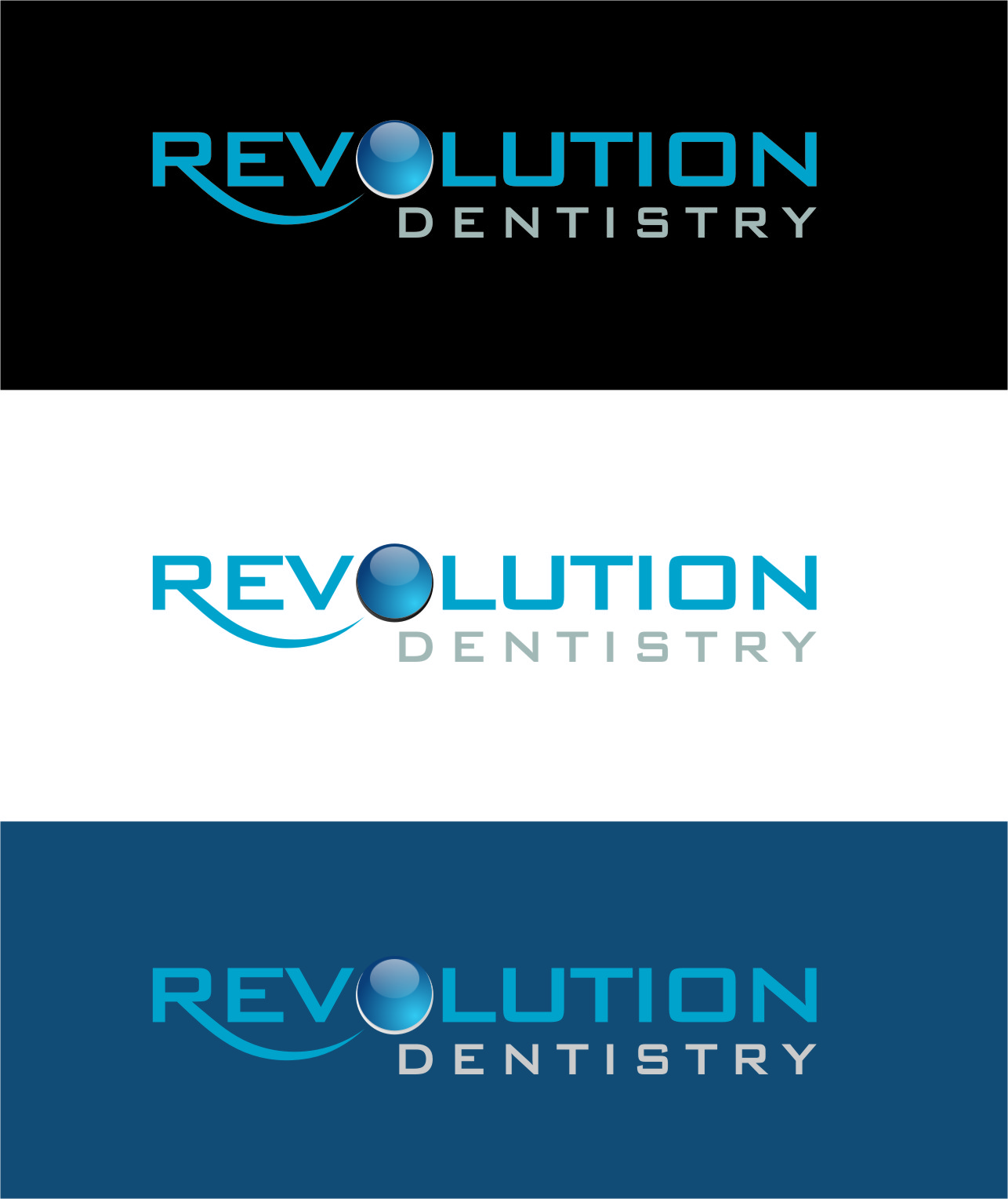 Logo Design by RasYa Muhammad Athaya - Entry No. 258 in the Logo Design Contest Artistic Logo Design for Revolution Dentistry.