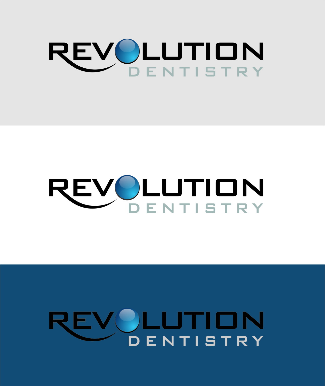 Logo Design by RoSyid Rono-Rene On Java - Entry No. 259 in the Logo Design Contest Artistic Logo Design for Revolution Dentistry.