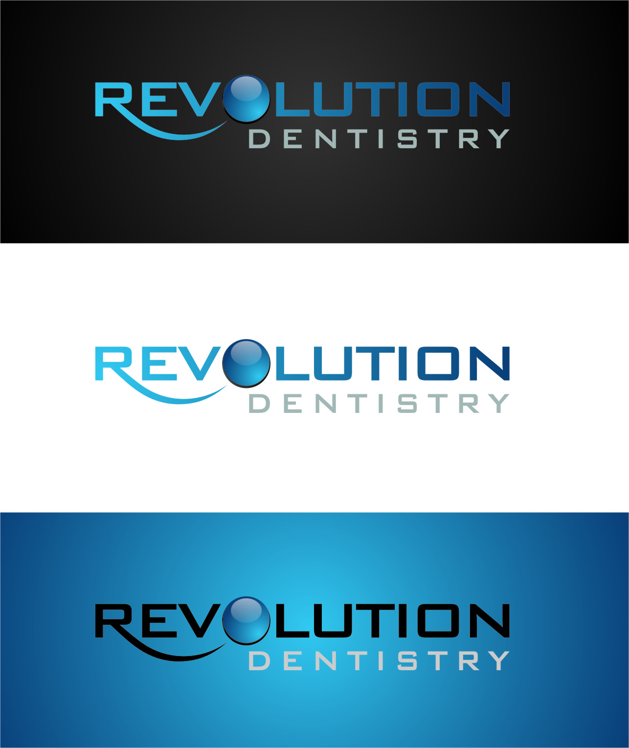 Logo Design by Ngepet_art - Entry No. 260 in the Logo Design Contest Artistic Logo Design for Revolution Dentistry.