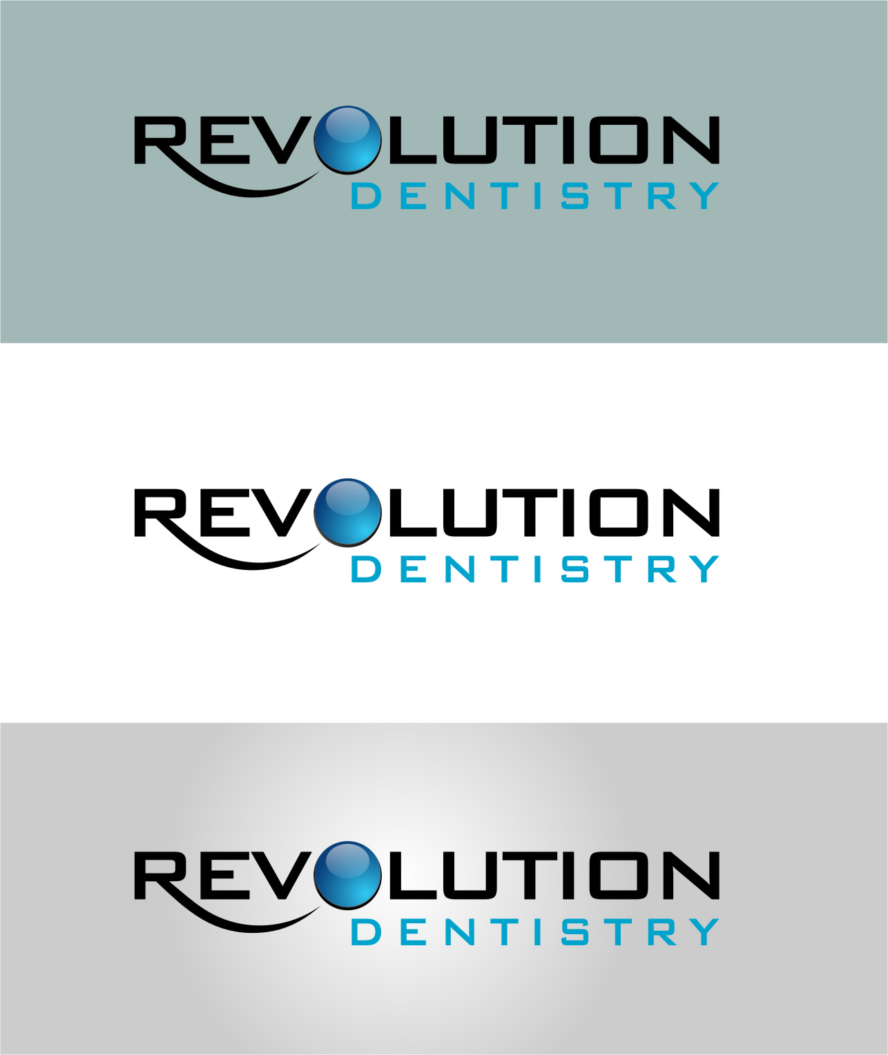 Logo Design by RasYa Muhammad Athaya - Entry No. 261 in the Logo Design Contest Artistic Logo Design for Revolution Dentistry.