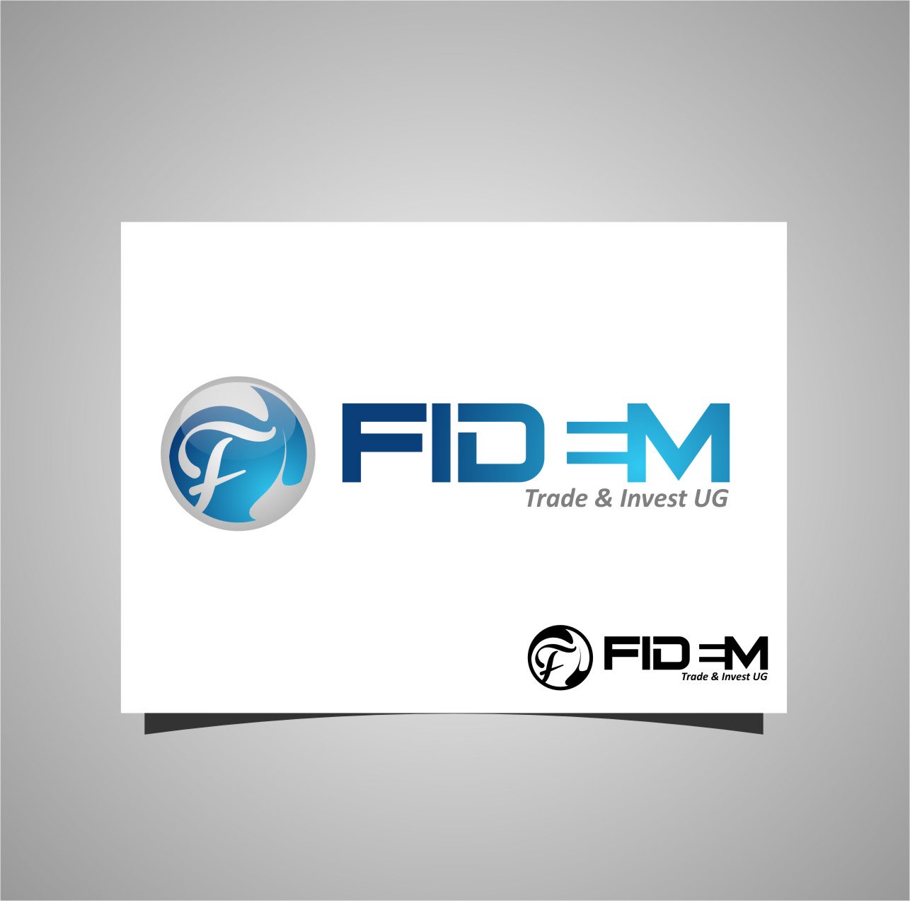 Logo Design by RasYa Muhammad Athaya - Entry No. 499 in the Logo Design Contest Professional Logo Design for FIDEM Trade & Invest UG.